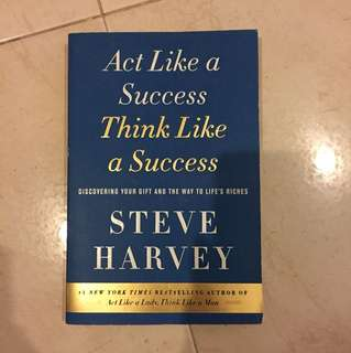 Act like a success think like a success