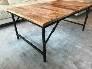 Industrial style coffee table from OVO. Only 6 months use.