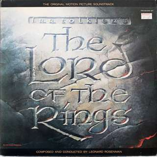 Lord Of The Rings (DOUBLE) Vinyl LP, used, 12-inch original (USA) pressing