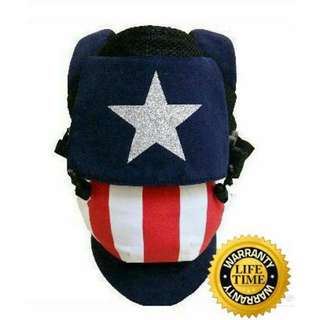 Tugeda Air Captain America Baby Carrier (Standard)
