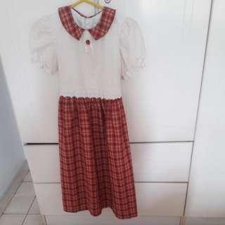 Pre-loved Vintage Dress(Age 10-14 years)