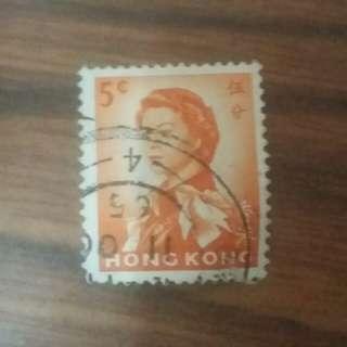女皇頭郵票