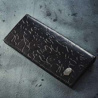 BAPE ABC CAMO LEATHER WALLET