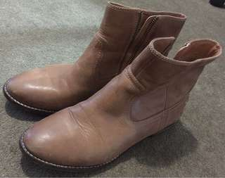 Windsor Smith Brown Ankle Boots