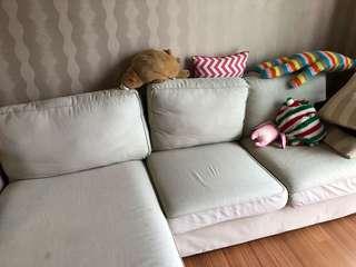 IKEA kvik 4 seater sofa