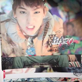 Official Baro Postcards from B1A4 Ignition Special Edition