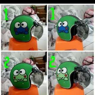 Helmet crazy frog classic retro
