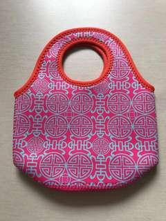 CNY Orange Bag