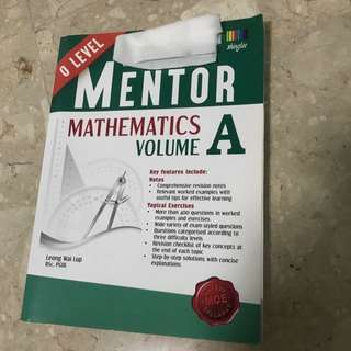 O Level Mentor Mathematics Book A