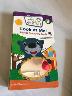 PL baby Einstein mirror & touch and feel discovery cards