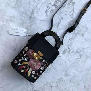 Original CHARLES & KEITH mini sling bag