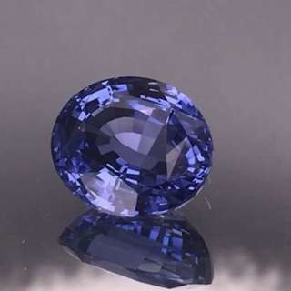 10.06cts Unheated Vivid Cornflower Blue Sapphire 👍🏻 Certificate Available