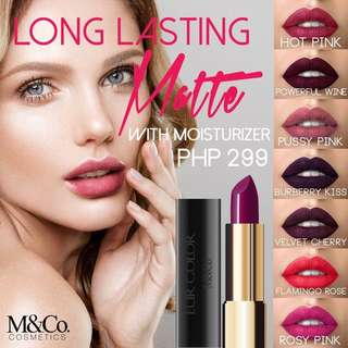 Long lasting matte with moisturizer