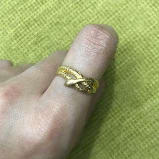 18 karat snake ring 2.2 grams