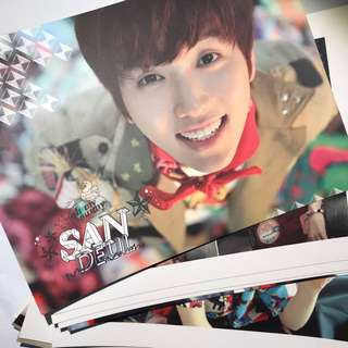 Official Sandeul Postcards from B1A4 Ignition Special Edition