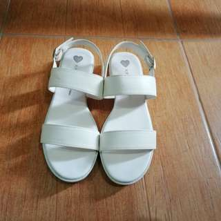 Kate Miss White Sandals