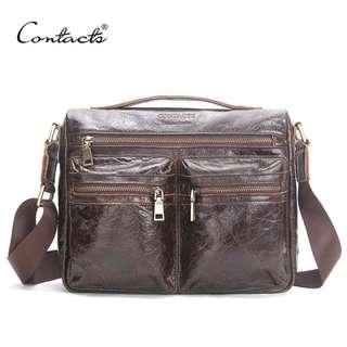 Genuine Leather Bag for Men (PN116)