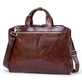 Genuine Leather Bag for Men (PN117)