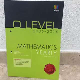 O Level Mathematics Yearly Papers