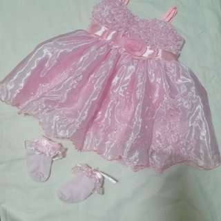 Pink Dress for baby