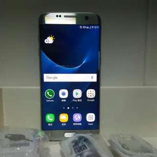 Samsung S7edge 32G。曲屏單卡,可置SD內存卡,冇崩損,新淨如圖所示。7日壞機包換