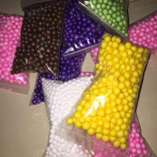 Foam beads !!