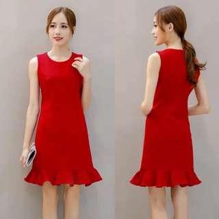 Red dress brand new ASOS inspired