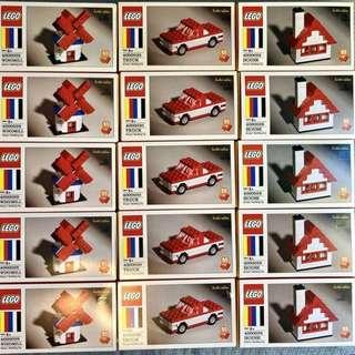 Lego 400028 ,4000029,4000030 限量版