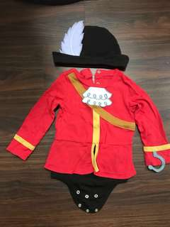 Disney Baby Hook Costume pirates lowered