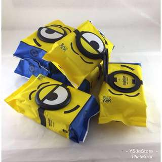 Ready stocks: Minions wet wipes (limited quantity)