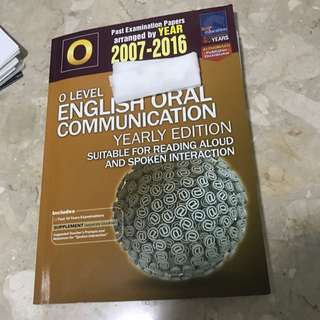 O Level English Oral Communication Yearly