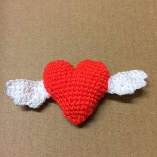 Love is in the air amigurumi