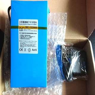 DC 12v 20000mah 20AH Lithium Polymer Battery
