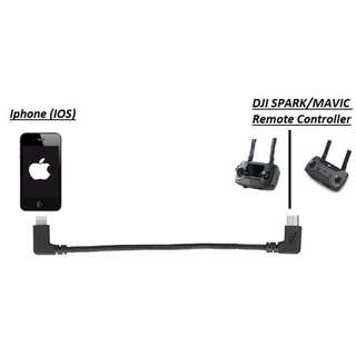 [$10] [FREE POSTAGE] DJI OTG Cable Remote Controller for Iphone/Ipad