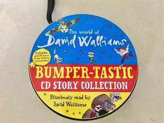 Brand New The World of David Walliams: Bumper-tastic CD Story Collection - 27 CDs