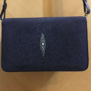 Stingray Skin Bag for Women (Vintage Evening / Casual Wear)