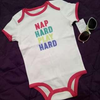 Carters Nap Hard Play Hard Collectible Bodysuit