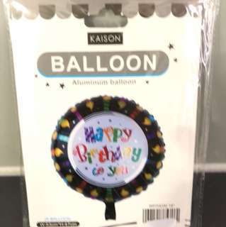 Balloon aluminium (birthday)
