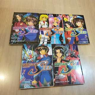 Gundam Seed Complete Comic Set (English)