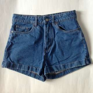 HIGH WAISTED MOM DENIM SHORTS FROM FACTORIE