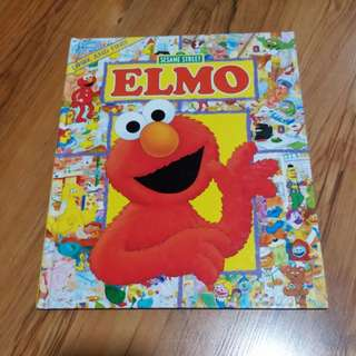 Sesame Street ELMO look and find