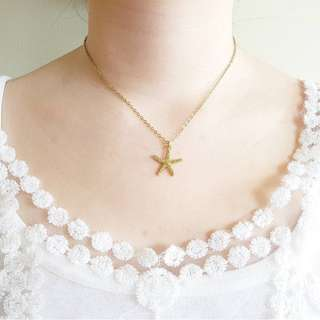 Gold starfish necklace PRE ORDER CUT OFF MAR9