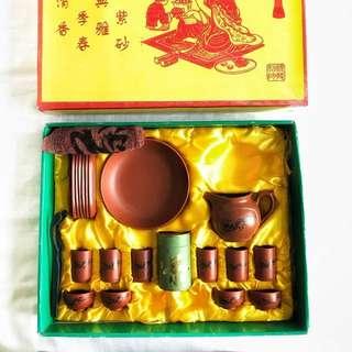 Chinese Traditional Zisha Tea Set