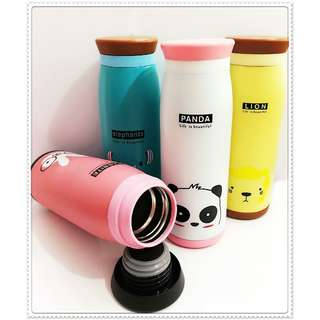 Thermos Bottle Character