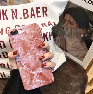 Marble iphone case 6/6s/7/8/6p/7p