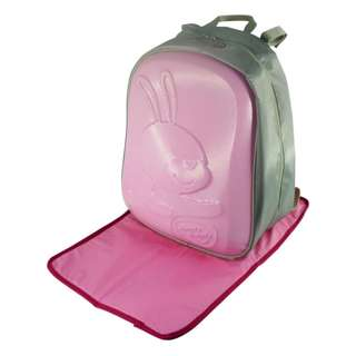 Simple Dimple Pink Bunny Papa Shield Bag Friends