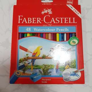 Faber Castell 48 Watercolour Pencils