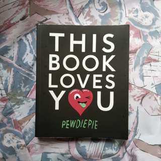 PEWDIEPIE THIS BOOK LOVES YOU #feb50