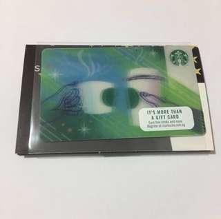 Starbucks card deactivated