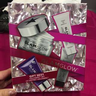 Glamglow volcasmic gift set